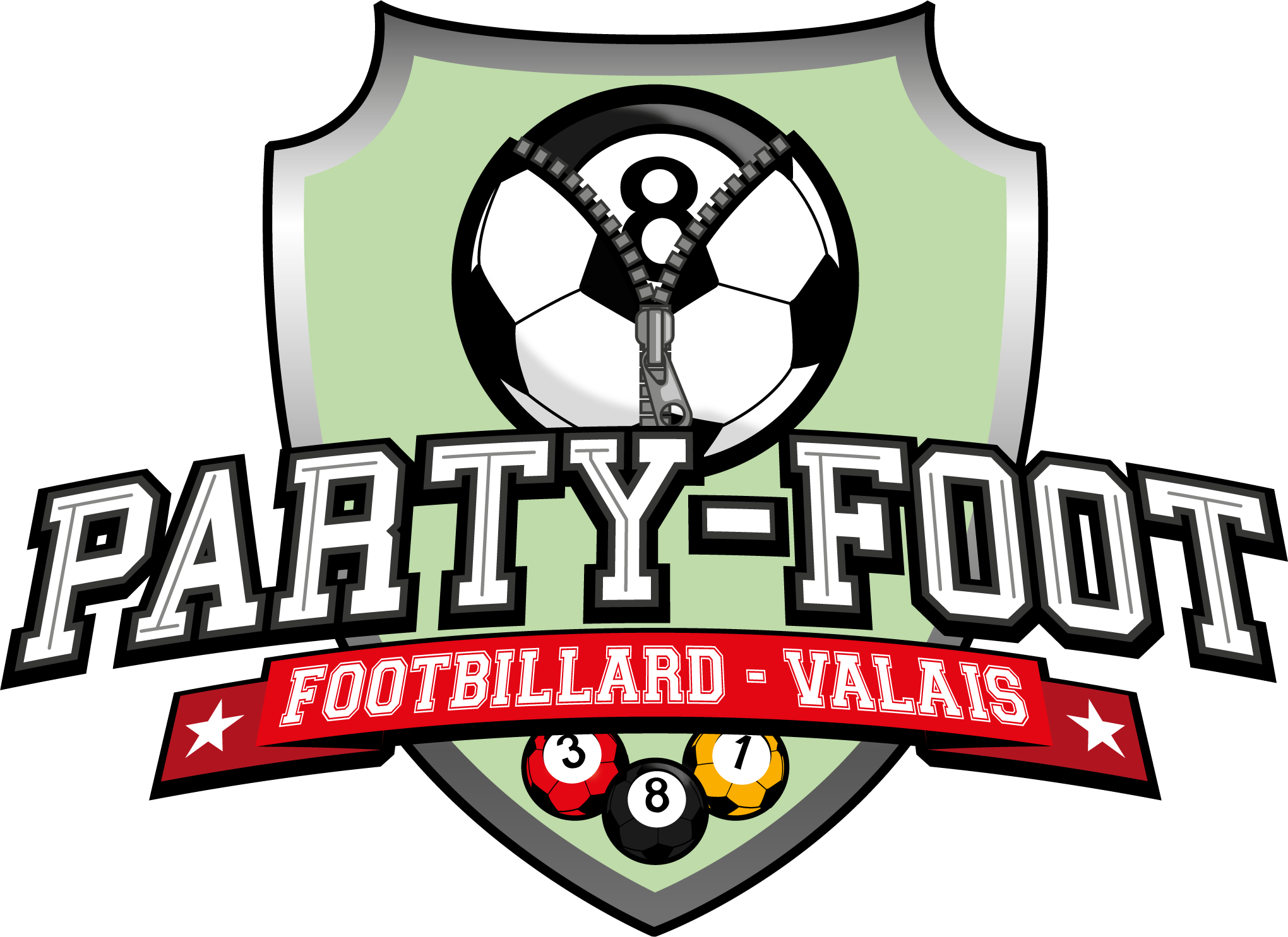 Logo de PARTY-FOOT FOOTBILLARD - VALAIS