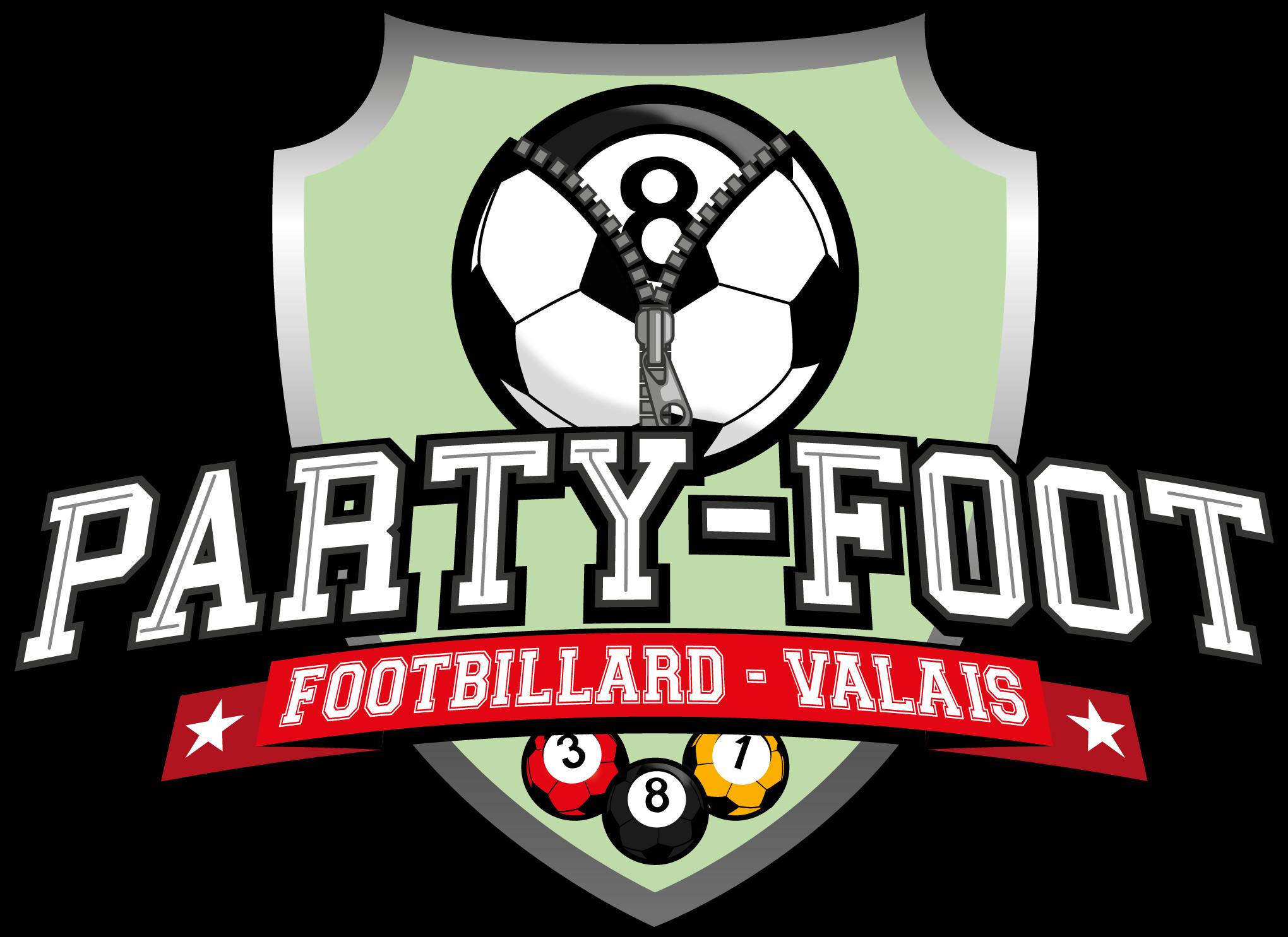Logo de PARTY-FOOT FOOTBILLARD - VALAIS
